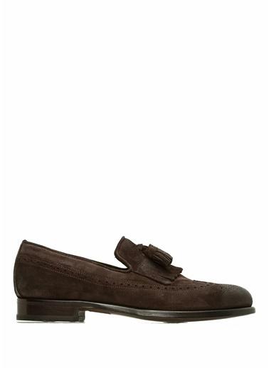 Beymen Collection Deri Oxford Ayakkabı Kahve